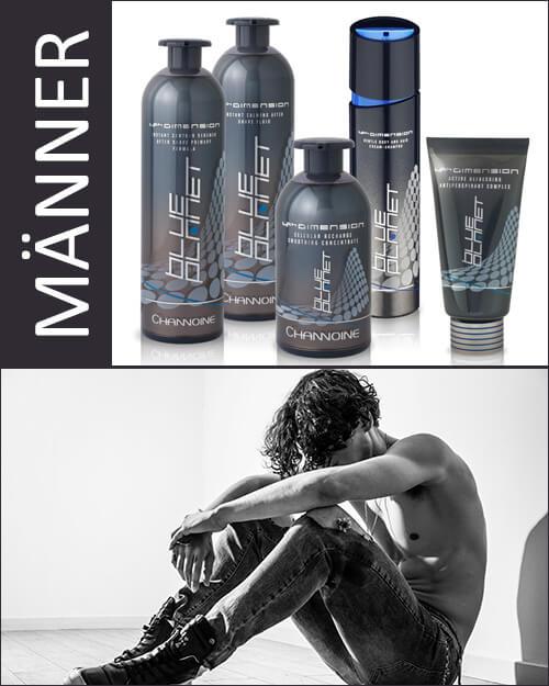 24skin blueplanet Hautpflege für Männen von Channoine