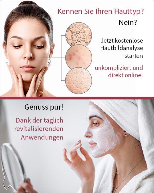24skin individuelle und kostenfreie Hautbildanalyse online von Channoine
