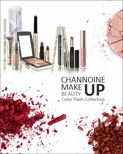 24skin Channoine Makeup & Beauty Color Flash Collection