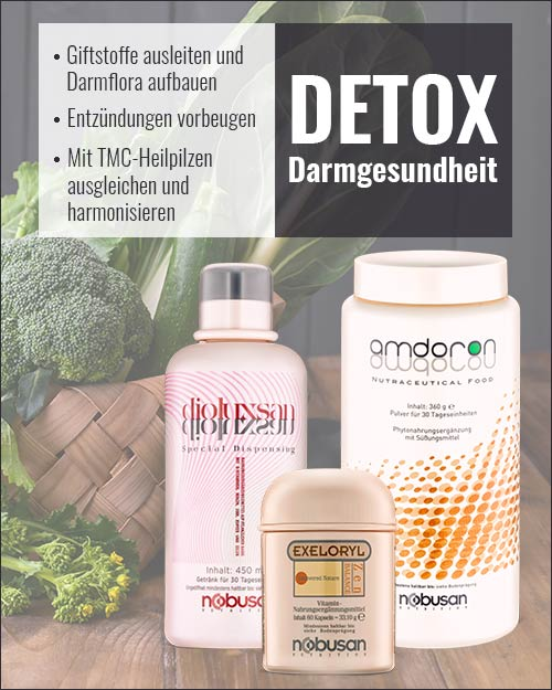 24skin Detox Darmgesundheit mit Nobusan